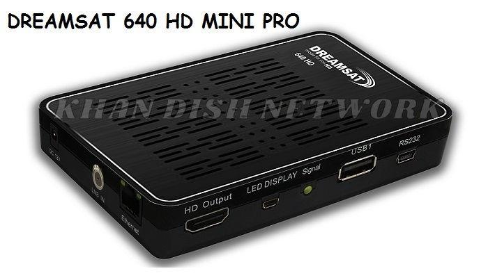 DREAMSAT 640 HD MINI PRO