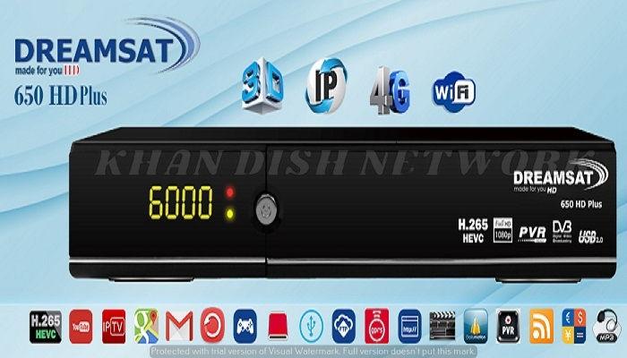 DREAMSAT 650 HD PLUS SOFTWARE