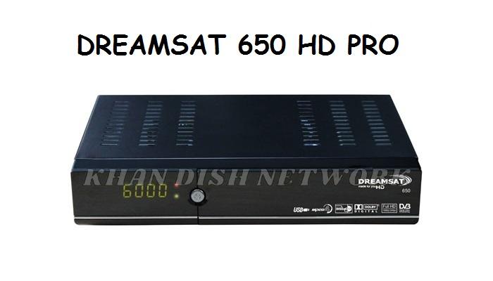 Dreamsat 650 HD Pro Software