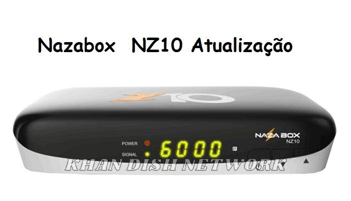 Nazabox NZ10 atualização