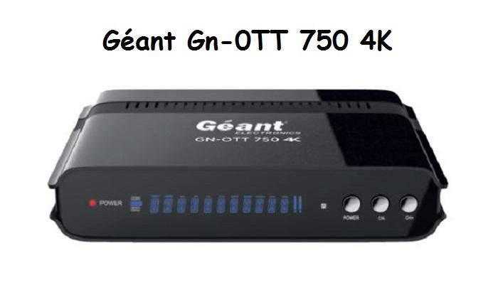 Géant Gn-0TT 750 4K