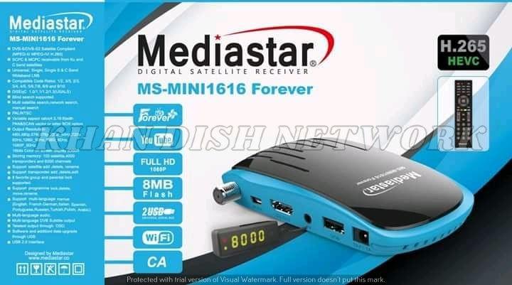 MEDIASTAR MS-MINI 1616 FOREVER