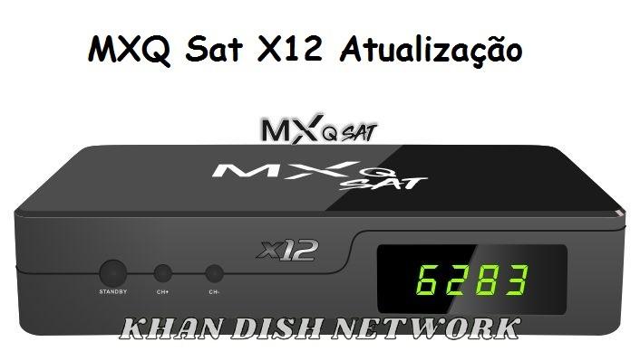 MXQ Sat X12 Atualização
