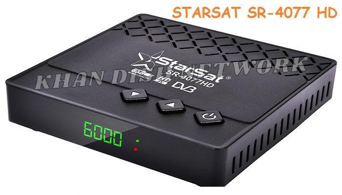 STARSAT SR-4077 HD SOFTWARE