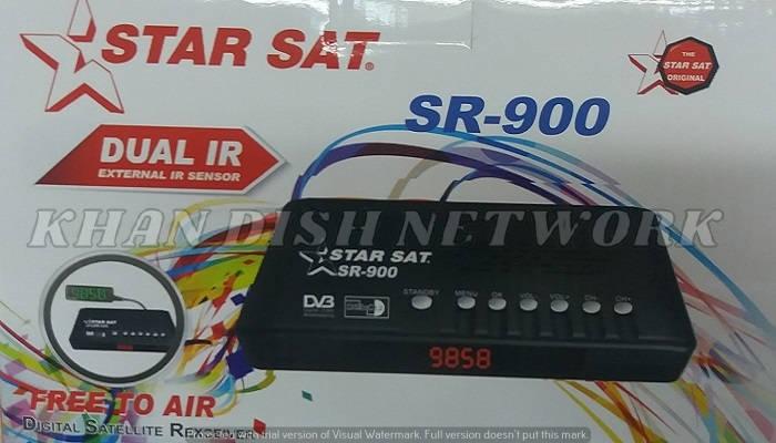 STARSAT SR-900 HD NEW SOFTWARE