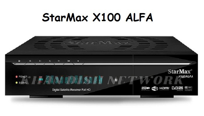 STARMAX X100 ALFA SOFTWARE UPDATE | SPECIFICATIONS