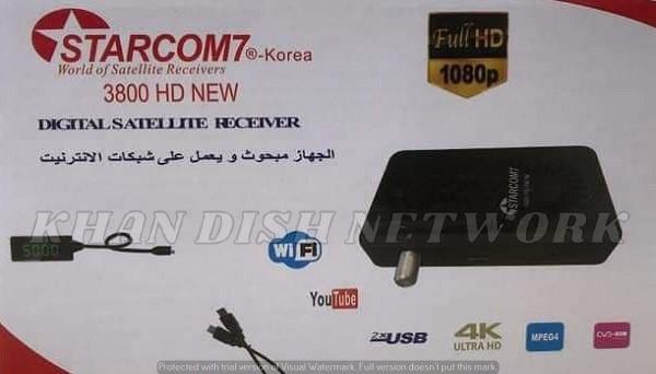 Starcom7 3800 HD New