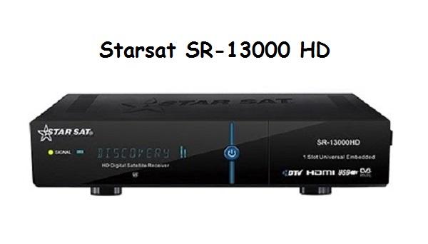 Starsat SR-13000 HD Software