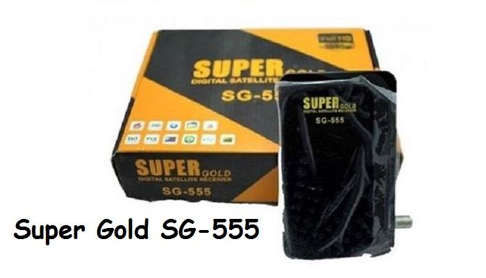 Super Gold SG-555 HD Software