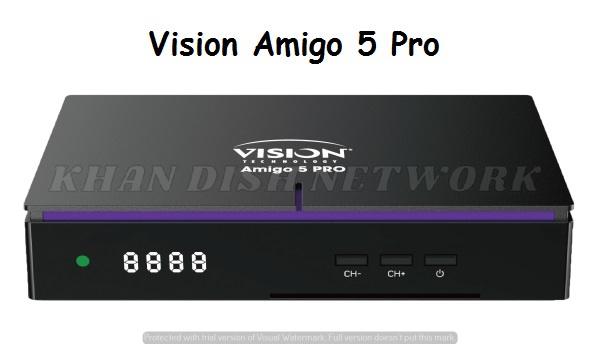 VISION AMIGO 5 PRO SOFTWARE UPDATE