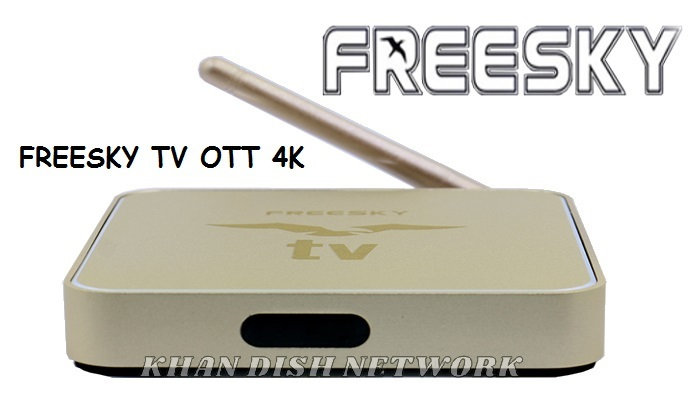 FREESKY TV OTT 4K ANDROID