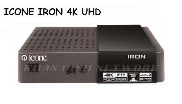 ICONE IRON 4K UHD SOFTWARE