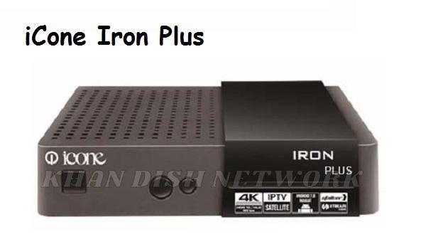ICONE IRON PLUS 4K SOFTWARE