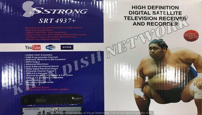 Strong SRT 4937+ Software