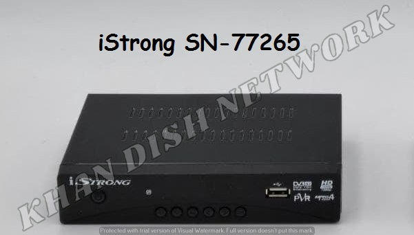 iSTRONG SN-77265 LATEST SOFTWARE UPDATE