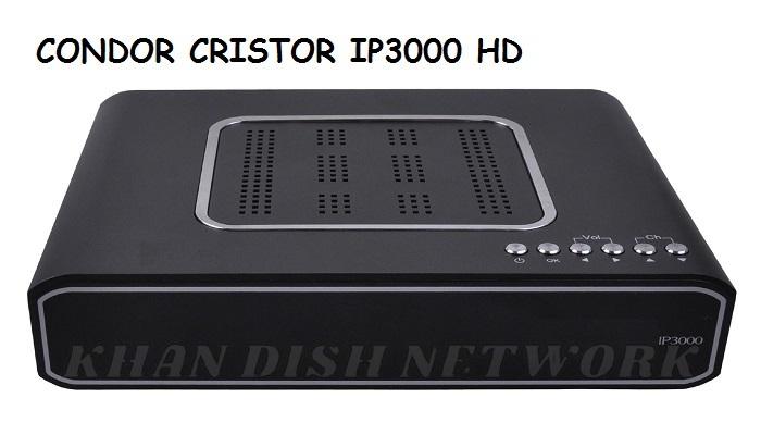 CONDOR CRISTOR IP3000 HD