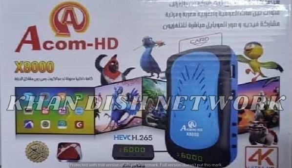 ACOM-HD X8000