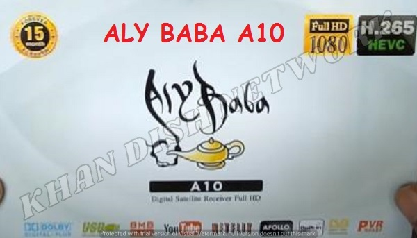 ALY BABA A10 RECEIVER SOFTWARE