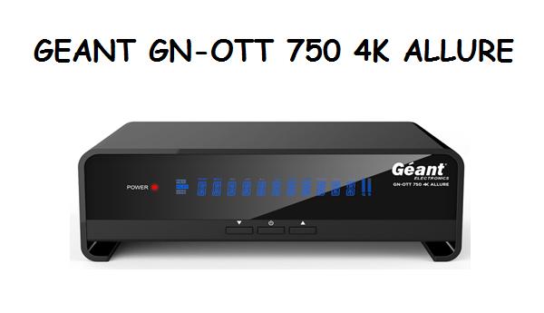 GN-OTT 750 4K ALLURE