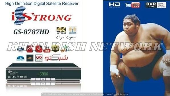 IStrong GS-8787HD NEW SOFTWARE UPDATE