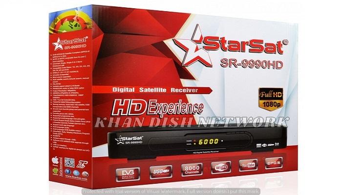 STARSAT SR-9990HD SOFTWARE