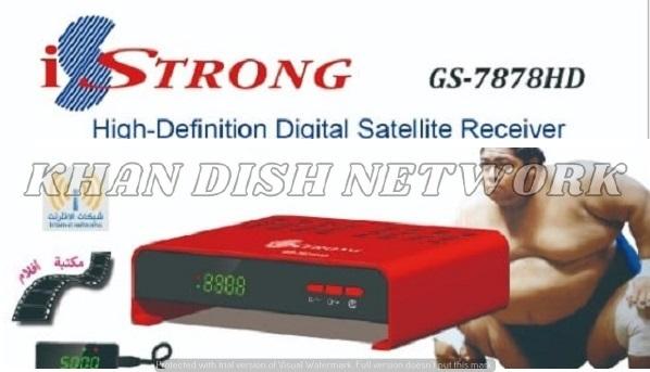 iStrong GS-7878HD NEW SOFTWARE UPDATE
