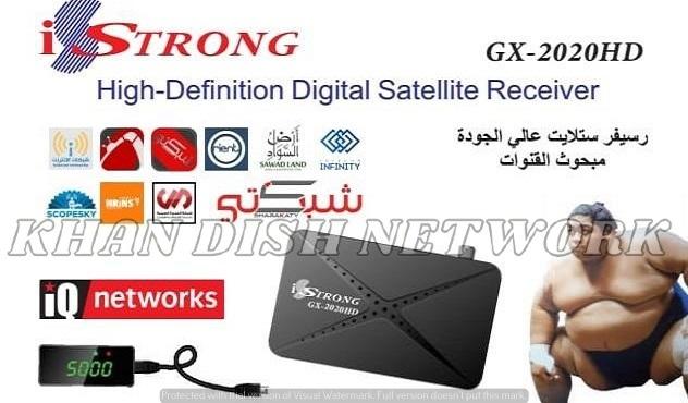 iSTRONG GX-2020 HD SOFTWARE UPDATE