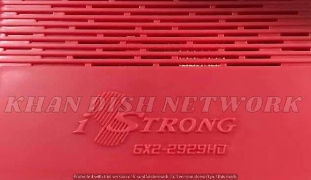 iStrong GX2-2929HD NEW SOFTWARE UPDATE