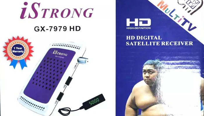 iStrong Gx-7979HD Receiver New Software Update Download