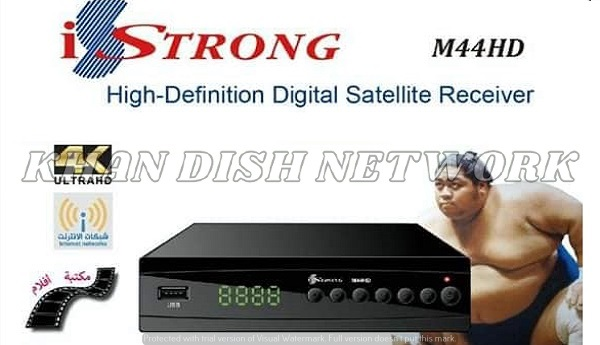 iStrong M44HD NEW SOFTWARE UPDATE