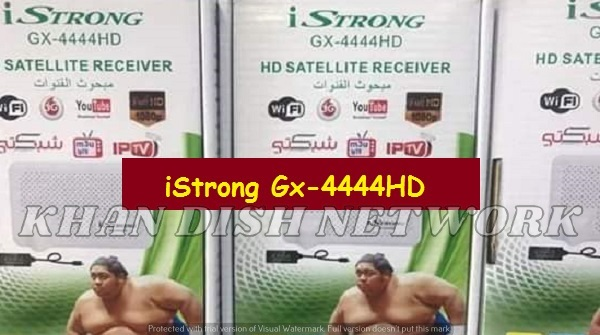 iSTRONG GX-4444 HD SOFTWARE UPDATE