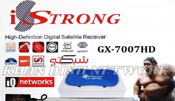 iSTRONG GX-7007HD SOFTWARE UPDATE