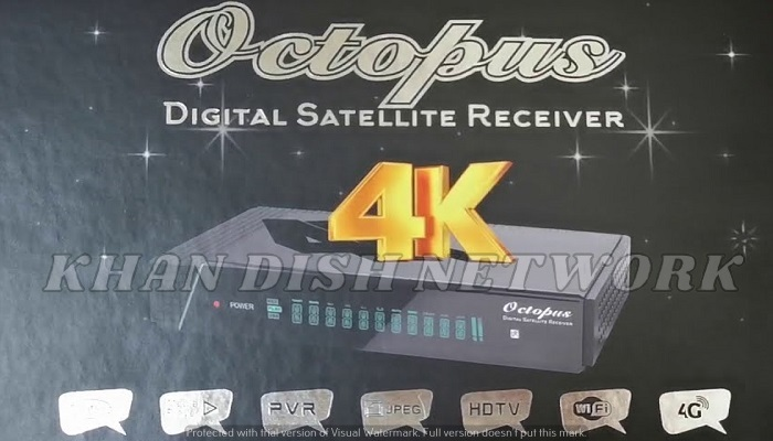iBox Octopus 4K Ultra HD Digital Satellite